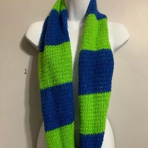 2/$10 — Hollister Blue + Green Infinity Scarf